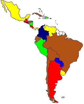 14 países ColorIURIS